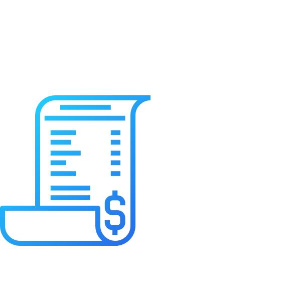 Ícone de receita AgileMS