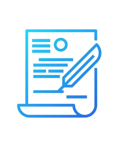 Ícone de contrato da AgileMS